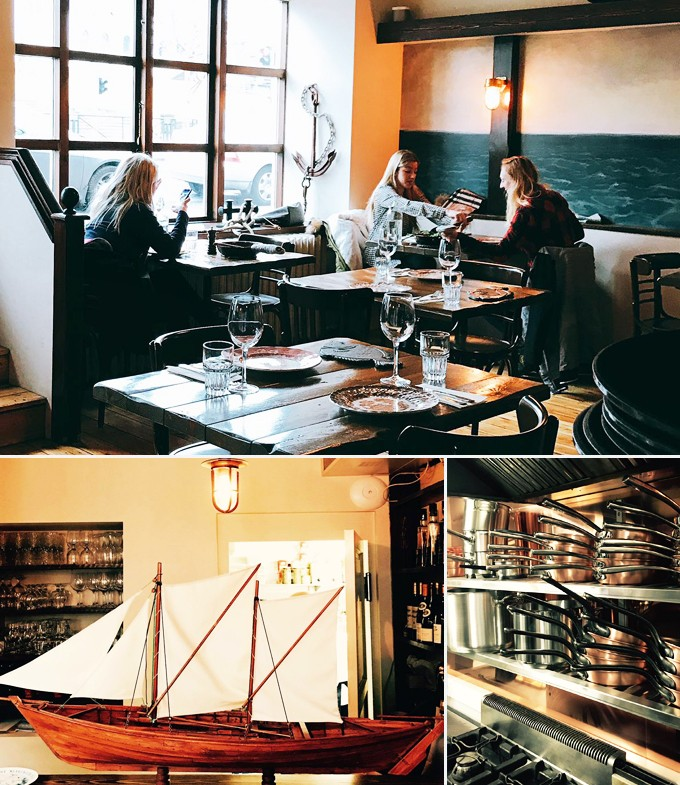 Restaurants Reykjavik Islande Messinn