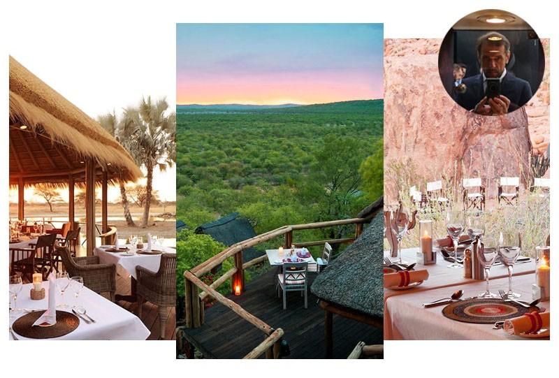 Hotel restaurant namibie parc national de Skeleton Coast