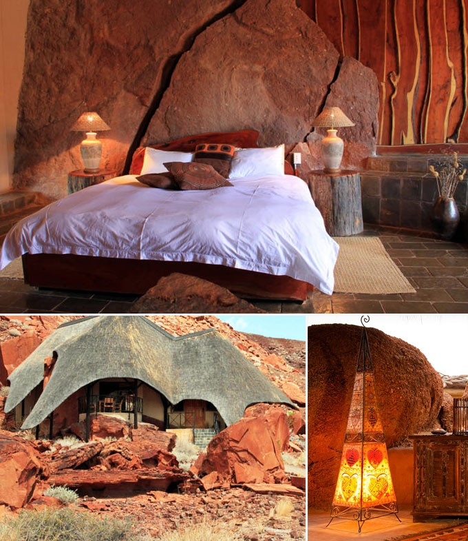 Twyfelfontein Lodge okonjima plains camp onguma bush camp lodge hotel namibie nature famille couple voyage sejour
