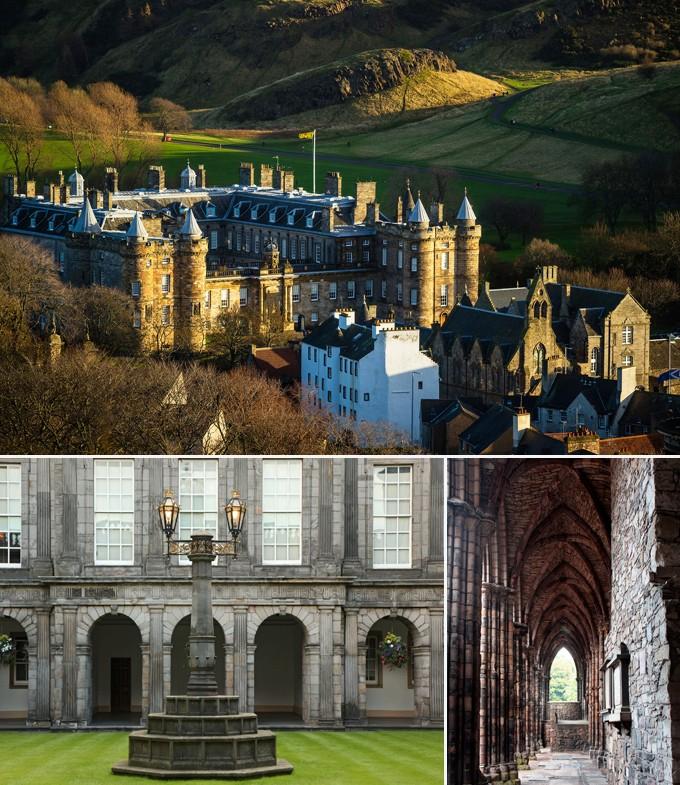 Edimbourg palais Holyrood escosse a faire