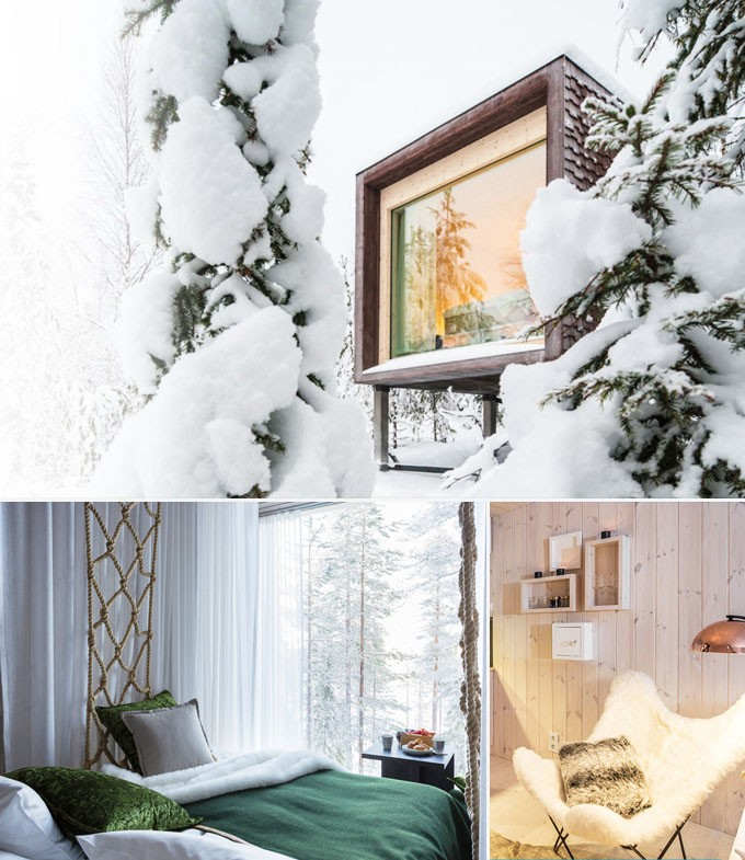 Artic TreeHouse Hotel Rovaniemi Finlande