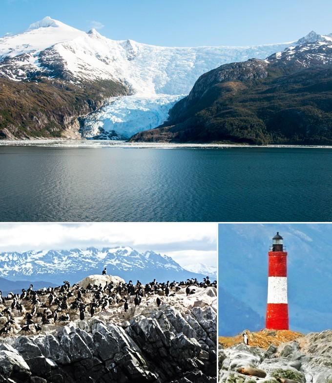 Croisiere au coeur de la baie d'Ushuaia Argentine