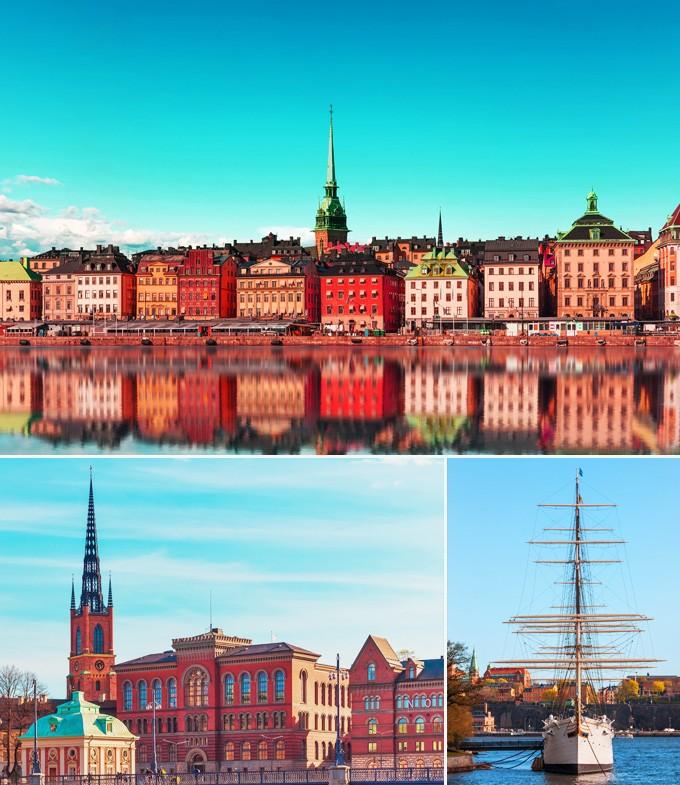 Gamla Stan Stockholm Suede a voir