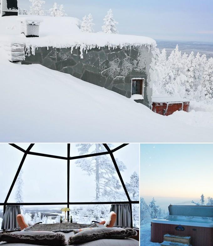 Levin Iglut hotel Rovaniemi Finlande