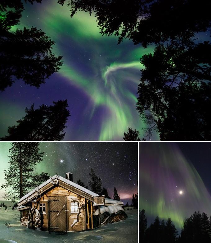 aventure aurores boréales Rovaniemi Finlande a faire