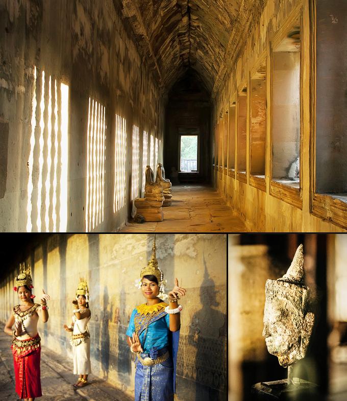 Angkor Wat temple un site archeologique Cambodge a voir