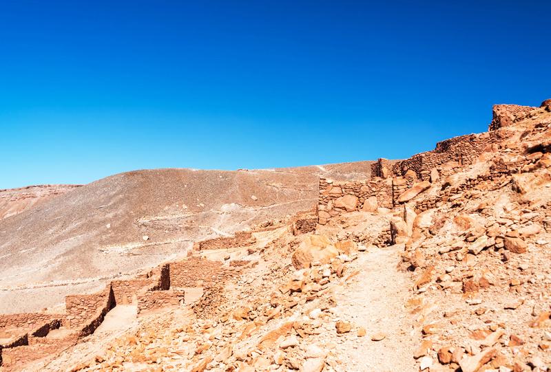 Pukara de quitor San Pedro de Atacama Chili a voir