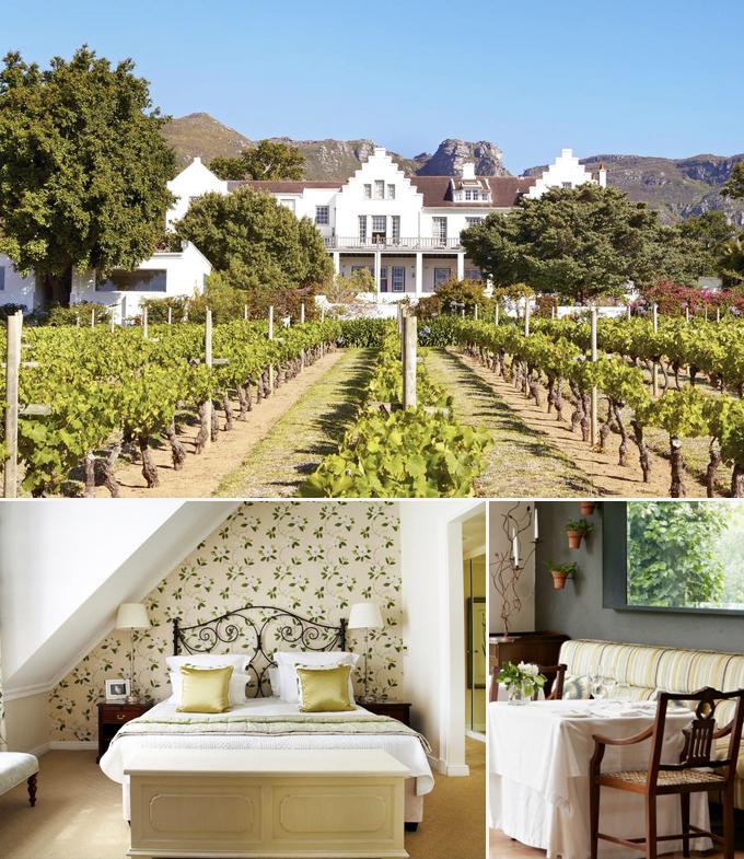 The Cellars Hohenort Hotels Le Cap Afrique du sud