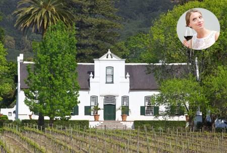 Vignoble de Constancia Afrique du sud a faire