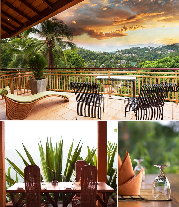 Villa Rosa Restaurants Kandy Sri Lanka