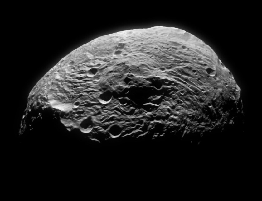 What is approximate diameter of the largest asteroid?