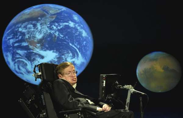 What was Stephen Hawking's theory of Black holes?
