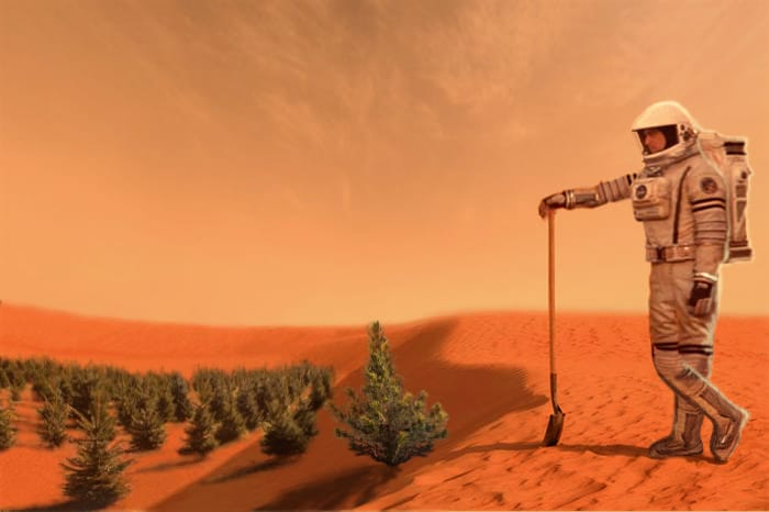 What will the first human settlement on Mars be like?