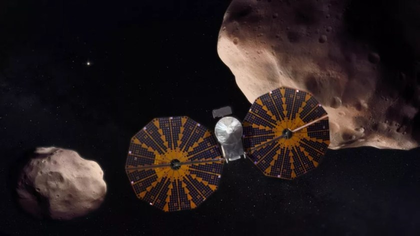 Lusy mission: Where are Trojan Asteroids located?