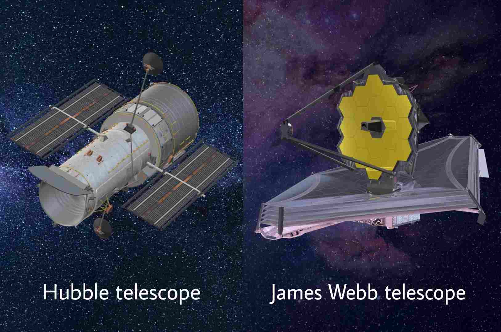 Why is the James Webb telescope better than Hubble telescope?