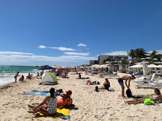 PLaya del carmen gay beach