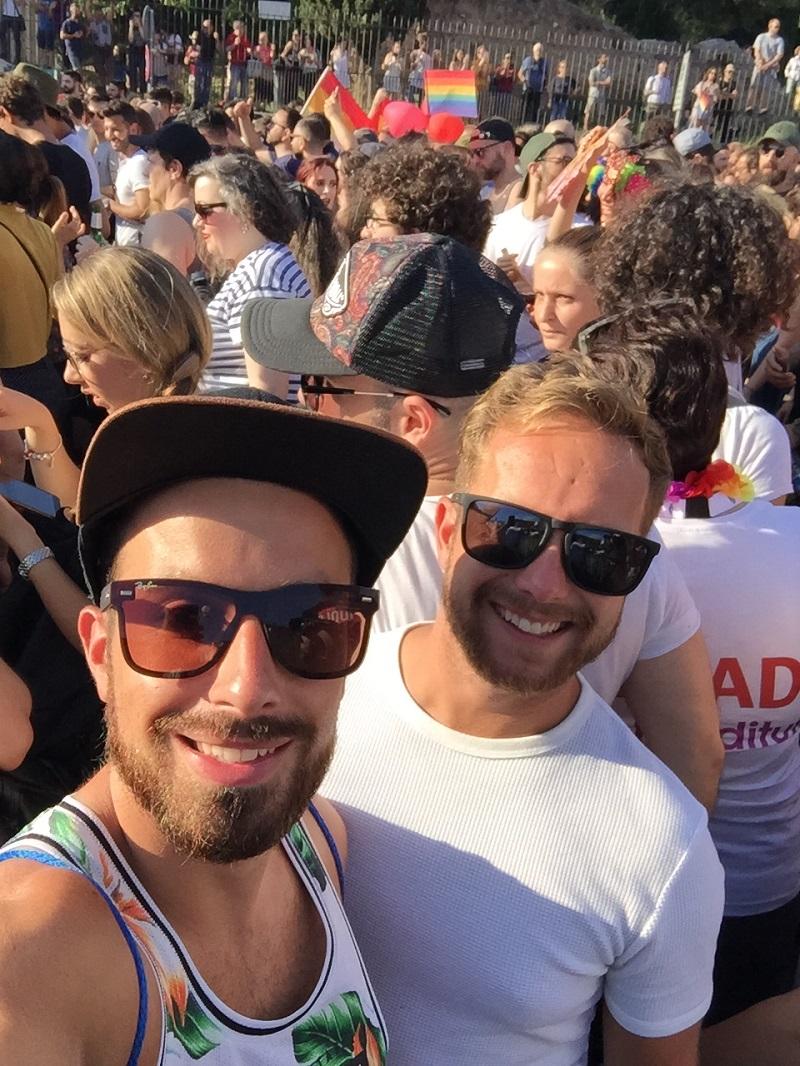Rome gay pride
