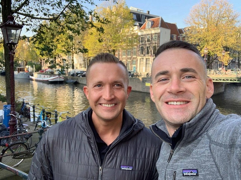 open couple gay cruise