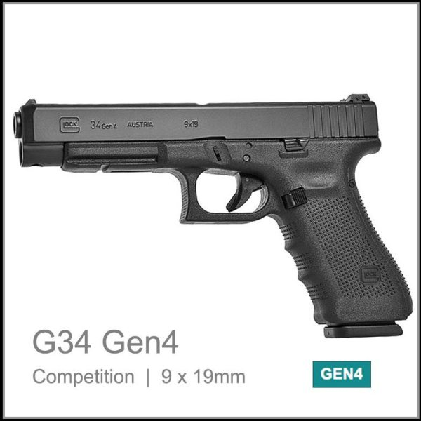 Glock 34 Gen 4 hmm seni auto competition pistol