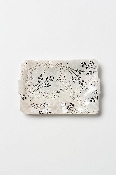 anthropologie sweet pea soap dish