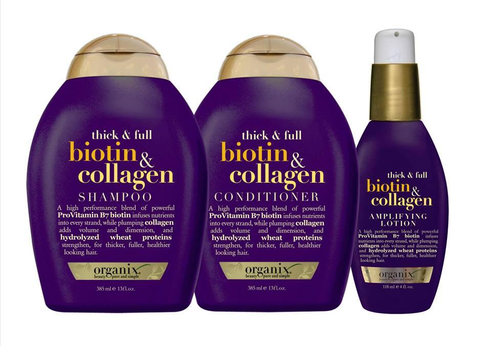 organix thick & full biotin collagen