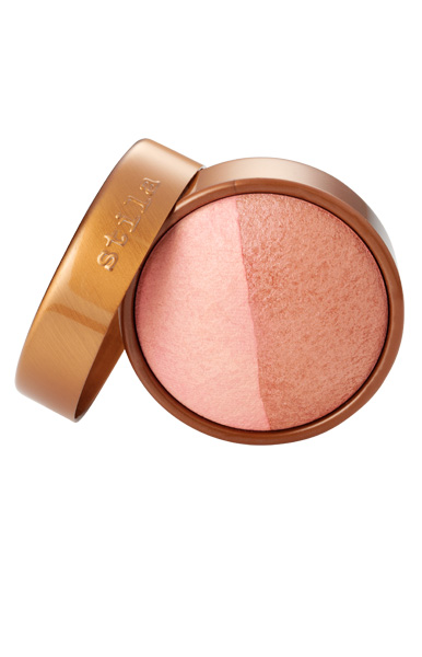 stila baked cheek duo in pink glow