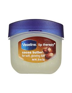 vaseline cocoa butter lip therapy
