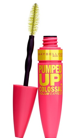 maybelline pumped up colossal mascara
