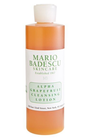 mario badescu alpha-grapefruit cleansing lotion