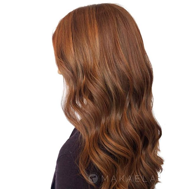 Now THAT'S a fall color! . online booking at theglossarysalon.com or call us at 913.725.8520