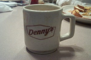 Denny's was my language school.