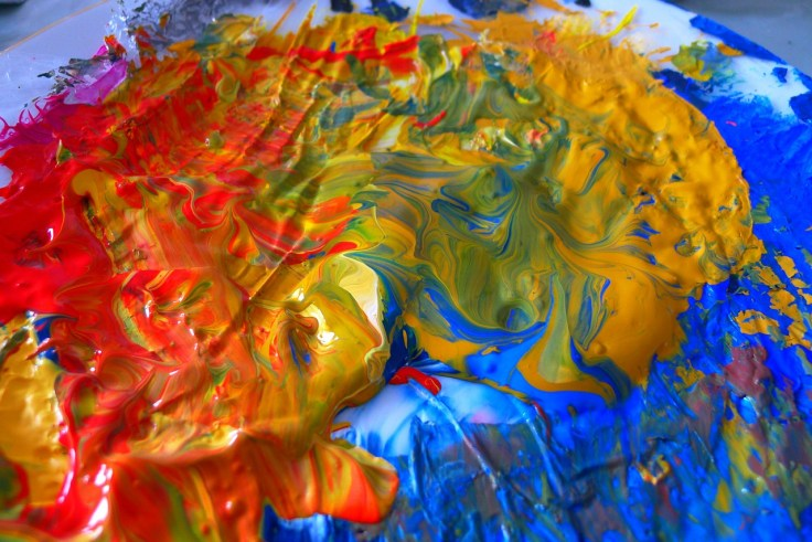 Language flows like paint swirls. Where one language ends and another begins is often impossible to determine.