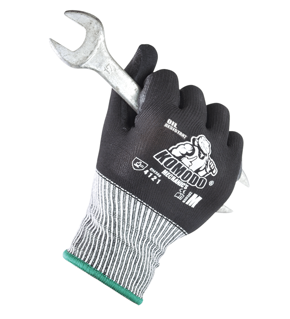 KOMODO Mechanics Glove gripping wrench