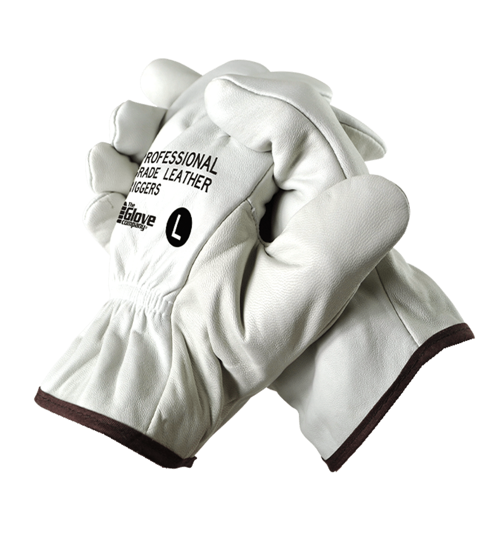 Professional Grade Leather Riggers Gloves