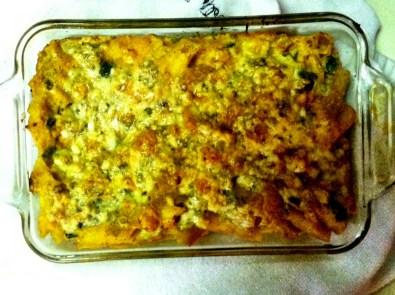 Butternut Macaroni & Bleu Cheese