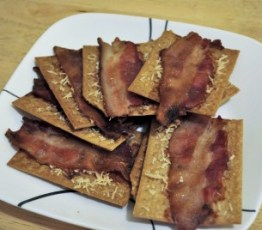 Bacon Crackers photo courtesy of Glutino