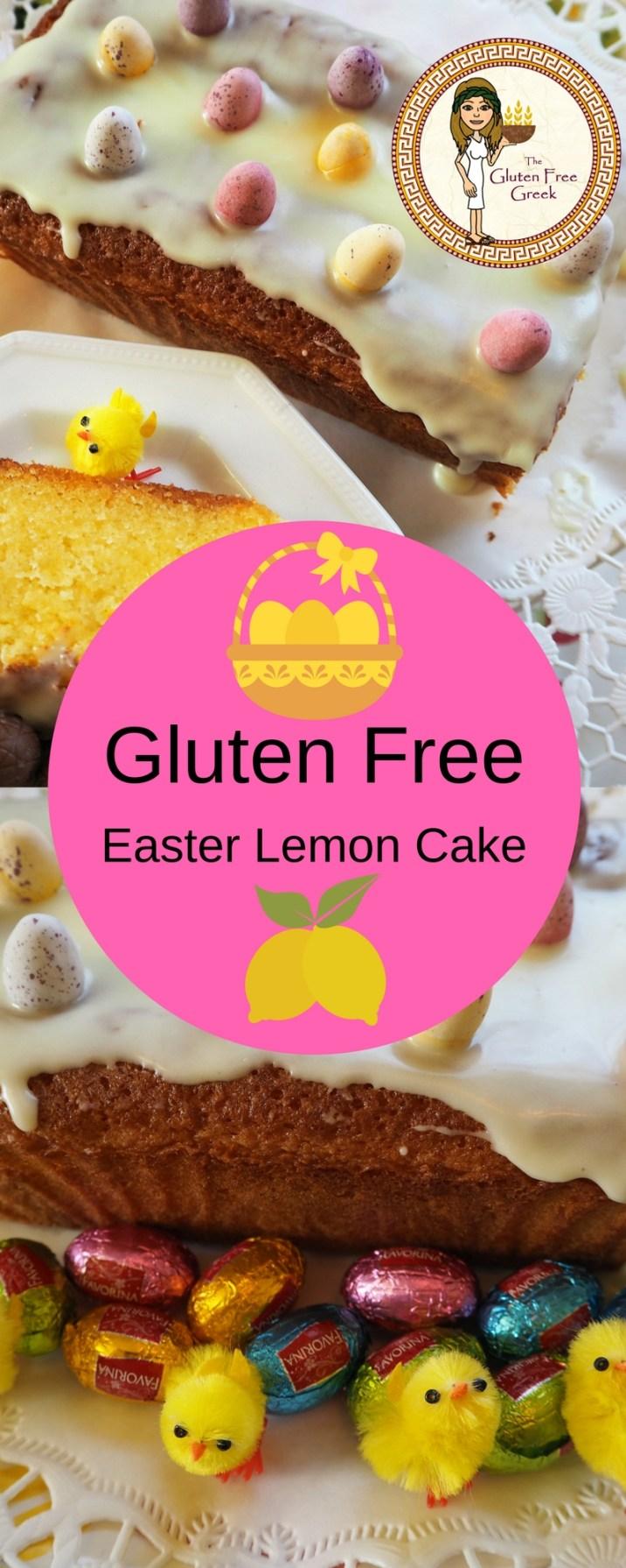 Gluten Free Lemon Cake pinterest