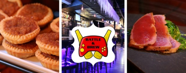 Atlanta's Battle and Brew made welcoming 2018 magical with food, drink, and friends at their Hogwarts-inspired New Year's Eve Yule Ball. Article by The Gluttonous Geek.