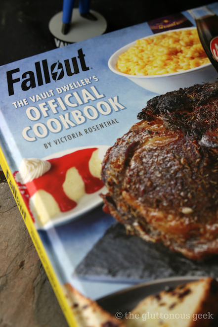 The Official Fallout Cookbook by Victoria Rosenthal. Review and photo by The Gluttonous Geek.