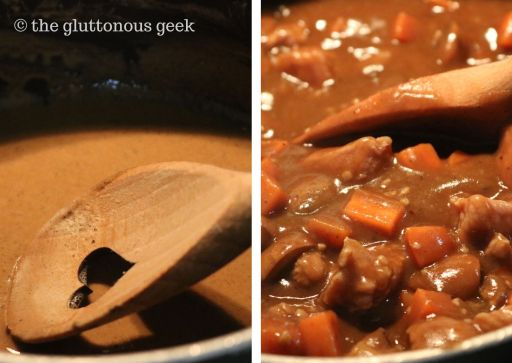 Black Stout Gravy Pie inspired by Fat Magic RPG. Recipes by The Gluttonous Geek.