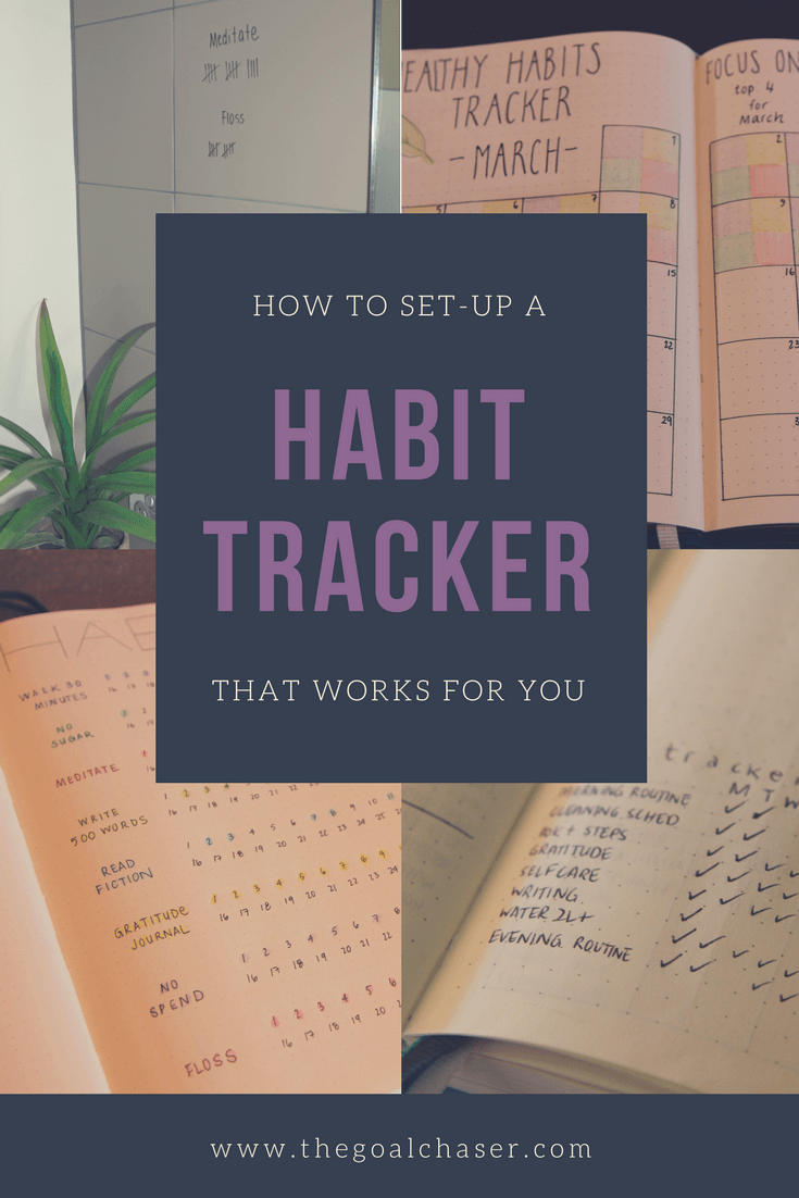 A habit tracker is essentially a to do list of the habits that you are trying to set or trying to break. Here are 5 different methods and ideas you can use to track your habits. Includes a free printable.