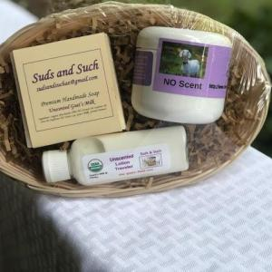 Unscented Gift Basket