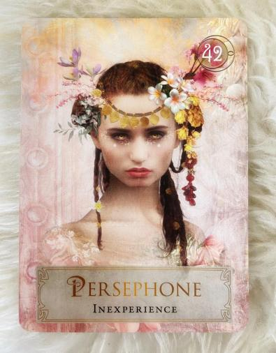 The goddess Persephone helps me with overcoming my envy of others.