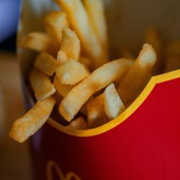 WOULD MODERN-DAY APHRODITE INDULGE IN THE PLEASURE OF MCDONALD'S?