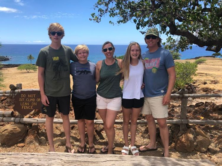 Making family memories in Maui