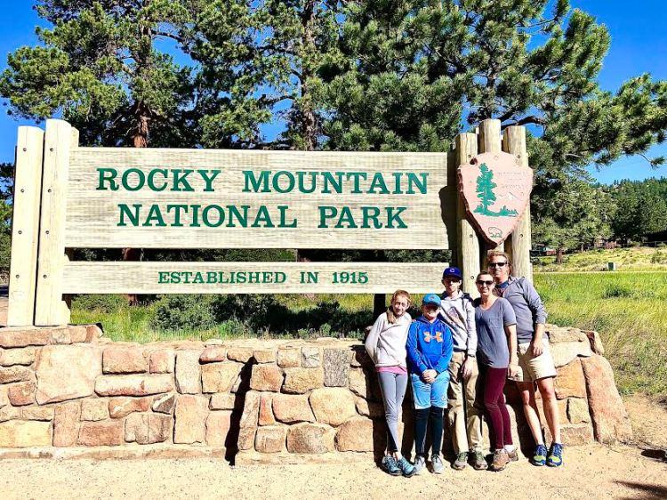 Rocky Mountain National Park family