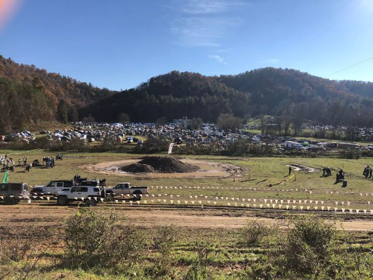 adventuring with teenagers at the overland expo in North Carolina