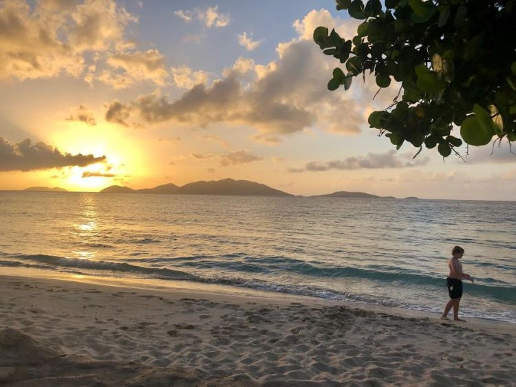 Tortola, BVI sunset