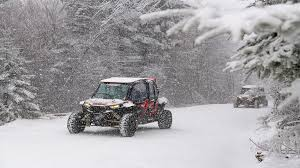 backcountry winter RZR tour