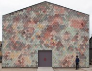 pastel facade